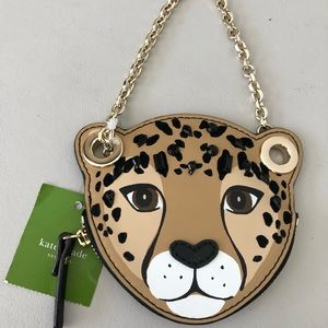 Kate Spade Leopard Coin Purse